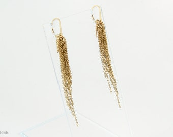 Aria Earrings, Gold AC0721