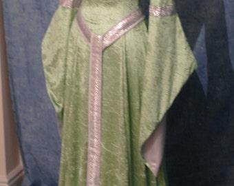 ELVEN DRESS, medieval dress,  renaissance dress, bridesmaid dress, custom made