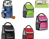Personalized Insulated Baby Bottle Bag Day Care Lunch Cooler Green Red Pink Blue Black
