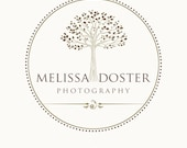 Premade Tree Logo and Watermark For Photographers