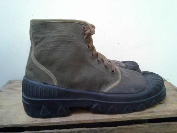 French Foreign Legion Boots -Size 12 1/2 (47)