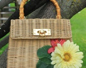Fresh as a Daisy embellished purse OOAK by Halle