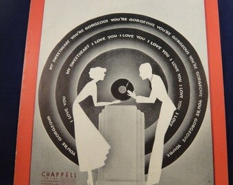 The Broken Record Sheet Music 1935