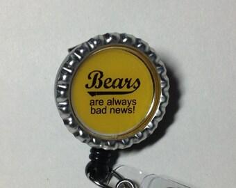 Bears are always Bad News work badge