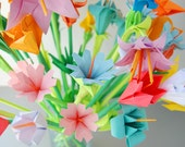 Multifloral Origami Bouquet