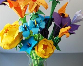 Bouquet of Flowers: Wild Flower Arrangement