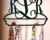 Personalized Monogram Jewelry Holder Display Organizer and Storage
