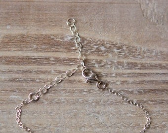 Sterling Silver or Gold Filled Extender Chain Add-On