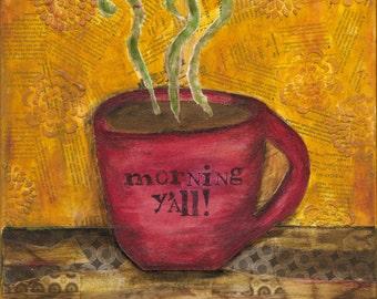 Canvas, art print, artwork, Coffee