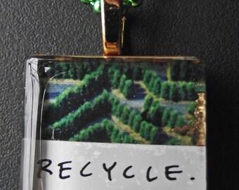 recycle pendant