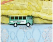 Children bedroom decor Kid Art Poster Tahiti Bus Papeete Toy bus