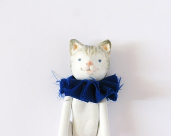 Art Doll Tabby Cat OOAK