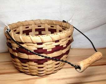 Handmade Berry Bucket Basket