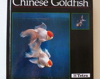 Goldfish vintage book Chinese Goldfish color photos care and breeding ornamental fish