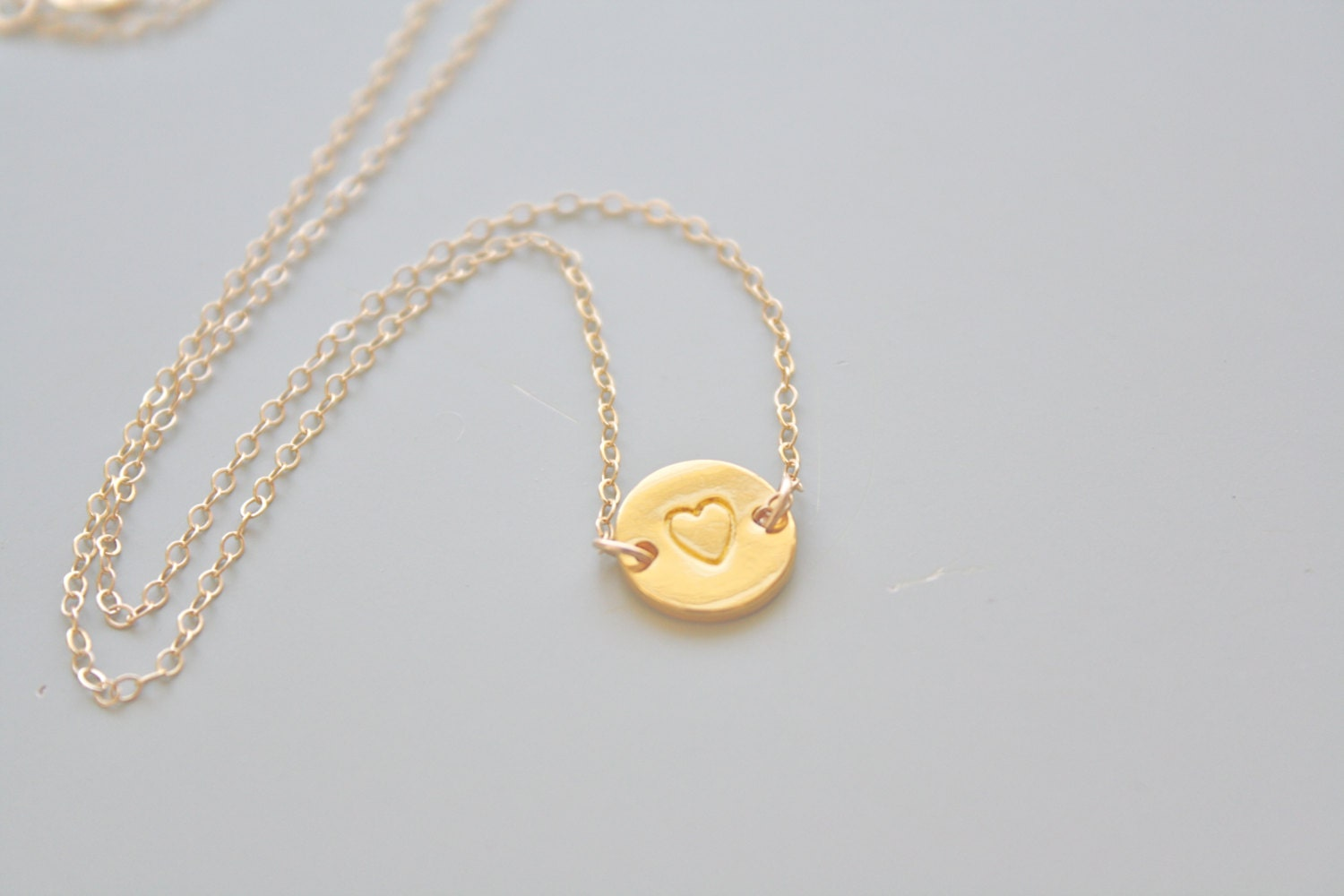 gold necklace necklace simple necklace by avahopedesigns