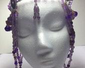 Hubba Bubba Bubble Gum Purple Headpiece