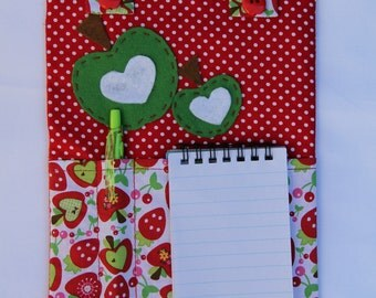 Fabric Notepad Magnet