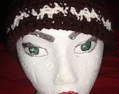 Brown and Cream Skull Cap Crochet