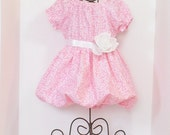 Girls BOUTIQUE BUBBLE DRESS Size 6mo to 4T Easter Spring Summer Clothes Baby Toddler 6mo 9mo 12mo 18mo 24mo 2T 3T 4T