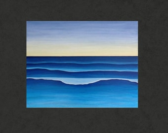 Give Em Swell surf waves painting