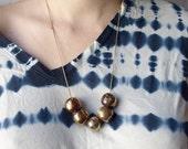 Glint: Ceramic Bead Necklace