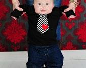 Baby Boy Valentine Boys Valentine Boys Tie Shirt Heart Shirt Baby Toddlers 03 3-6 6-9 12 18 24 Months  Boys 2 3 4 5 6 8 10 12