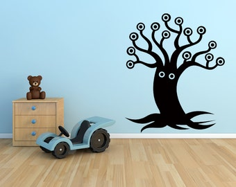 Monster Decal, Tree Decal, Monster Decor, Monster Decorations, Tentacle Decal, Children's Bedroom Decor, Playroom Decor, Play Room Decal