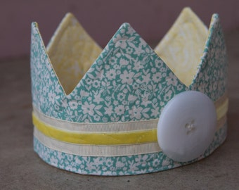 Fabric Crown - Princess Amy