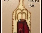 EPATTERN, salt box house, mini bread board, painting epattern, paint your own, digital download