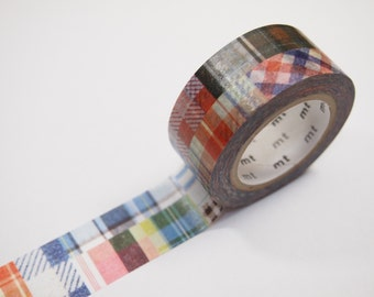 mt PATCHWORK Washi Tape (20mm X 10M)