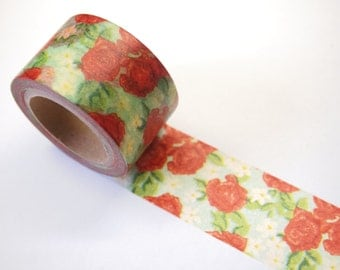 Washi Tape - rose (30mm X 10M)