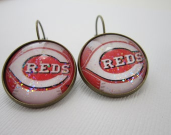 Cincinnati Reds Star Girl Earrings
