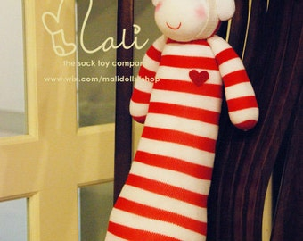 Mali Sock Doll, Sock Monkey, Kiwii