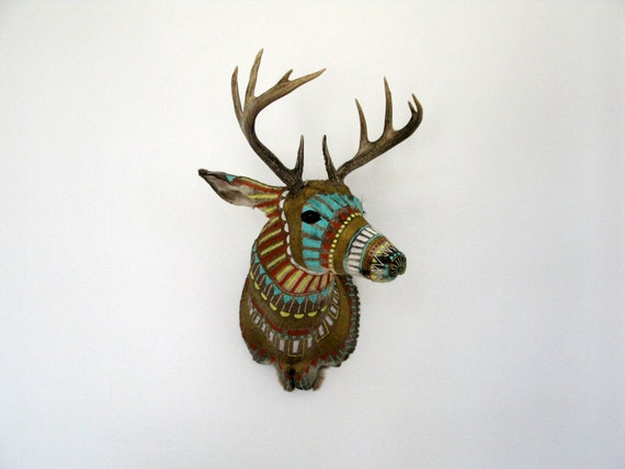 Hand painted Taxidermy