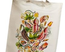 Sea Coral & Kelp 12 Eco Friendly Canvas Tote Bag (isl038)
