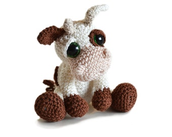 Amigurumi Cow Crochet Pattern PDF Instant Download - Mable