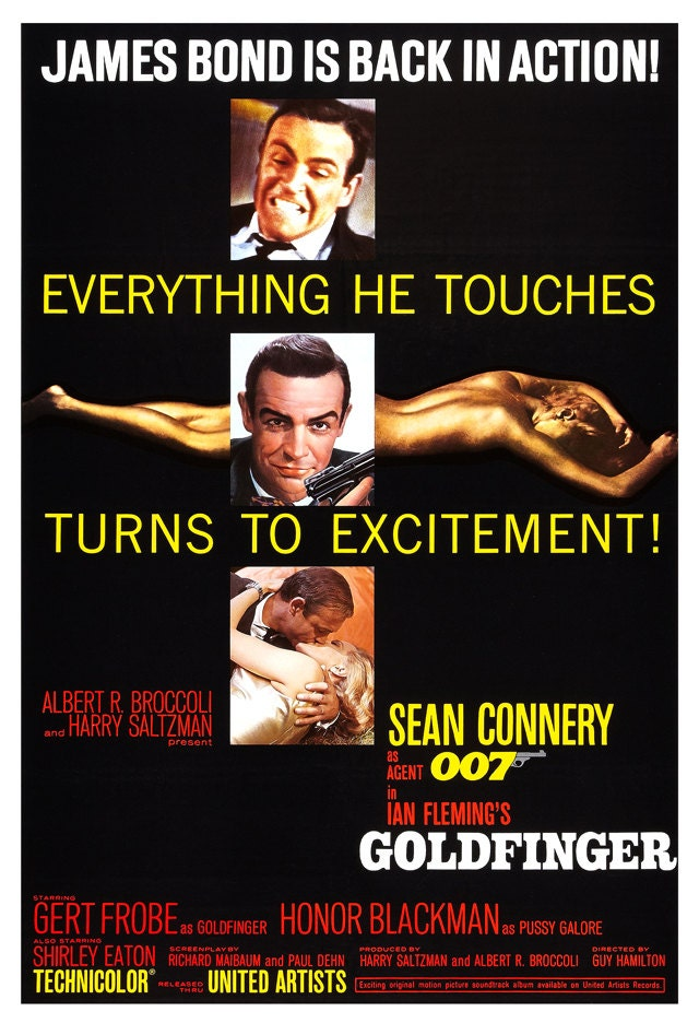 James bond 007 goldfinger home theater media room decor for 007 room decor