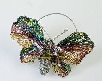 Unique brooch Butterfly brooch Contemporary brooch Wearable art Butterfly jewelry Modern brooch One of a kind Wedding gift Statement brooch