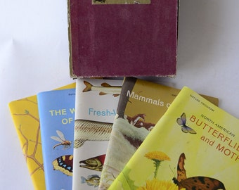 1960's books, Nature Program, with Stickers, from Diz Has Neat Stuff