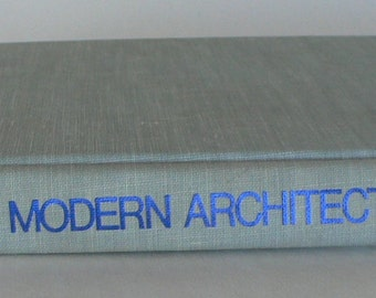 vintage book, Masters of Modern Architecture, 1977, from Diz Has Neat Stuff