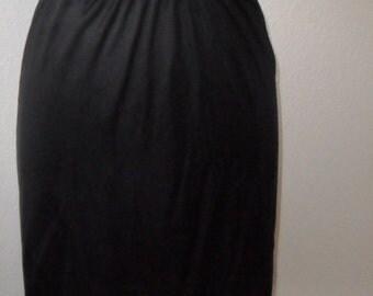 Kayser Half Slip Black Small Vintage