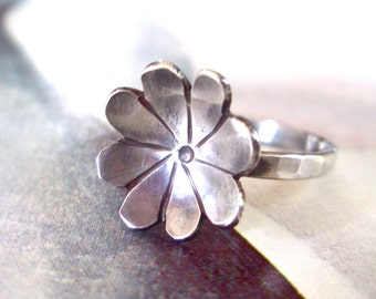 Fleurette Ring // Sterling Silver