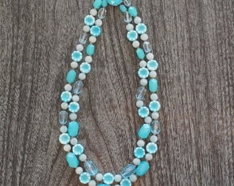 Vintage 1960s Turquoise Necklace
