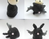 PATTERN ONLY - KNITTED from Vlad to Bat - pdf instructions
