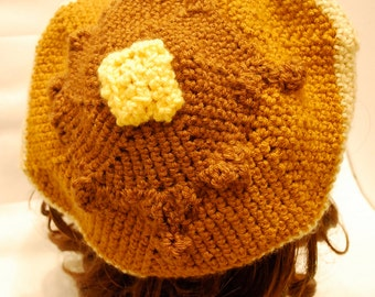 MADE TO ORDER Crochet Pancake Beret