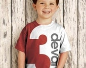 Birthday Number Shirt, Personalized Boy or Girl T-Shirt. 1st 2nd 3rd 4th 5th 6th 7th 8th 9th Birthday
