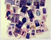 Miniature Reproduction TinTypes/Dageurreotypes For Your Dollies and Dollhouse Plus a FREE Mini Mona Lisa