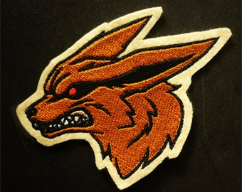 NARUTO Kyuubi  - Embroidered sew-on patch
