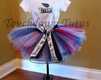 TN Titans inspired tutu outfit