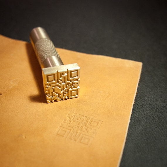 Diy Heat Embossing Leather: Custom Leather Stamp With Hammering Handle